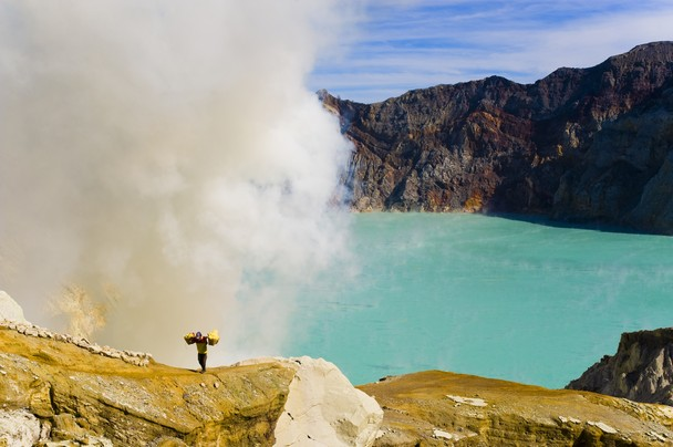 Kawah Ijen Indonesie