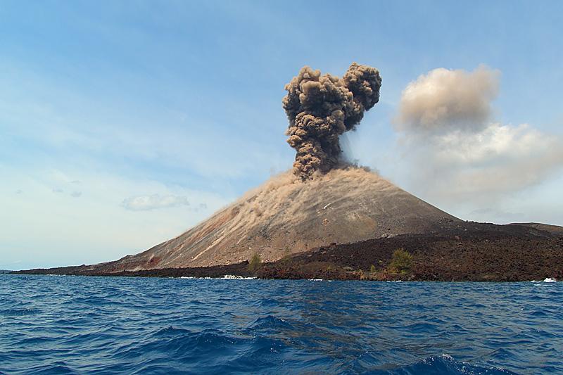 Krakatau Vulkaan Java