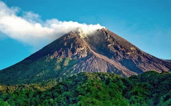 Merapi vulkaan