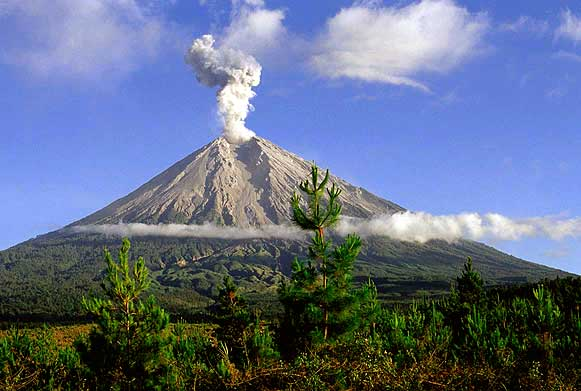 Semeru Vulkaan