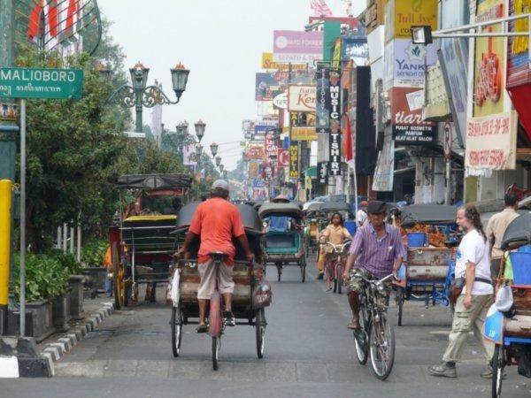 Yogyakarta Indonesie Java